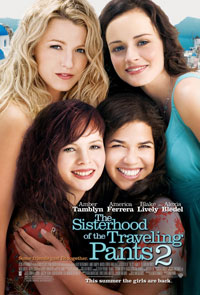Джинсы – талисман 2 / The Sisterhood of the Traveling Pants 2 (2008)